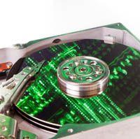 Formatierte Festplatte